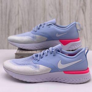 Nike Odyssey React 2 Flyknit Hydrogen Blue